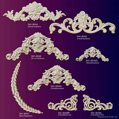 Ornamenfals for wall decoration