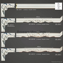 Curtain box mouldings