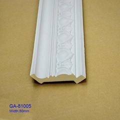 Polyurethane PU cornice moulding for interior decoration