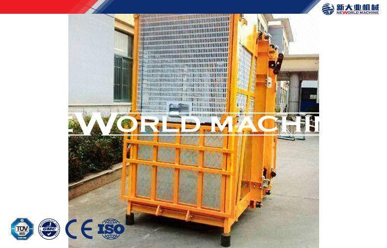 SC100 / 100 Double Cage passenger Hoist / Building elevator 1