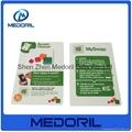 Custom design microfiber mobile phone screen cleaner sticker 4
