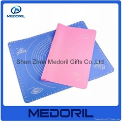 silicone heat resistant silicone pad silicone decorative dining table mat