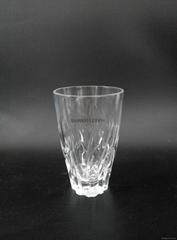 新款水晶玻璃果汁杯开水杯牛奶杯咖啡杯