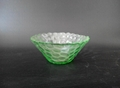 Stained glass bowl dessert bowl of dried fruit dish 3
