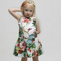 Fakifii 2017 summer girl fashion dress