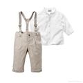 Autumn fashion boy clothes set 2