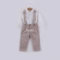 Autumn fashion boy clothes set 4