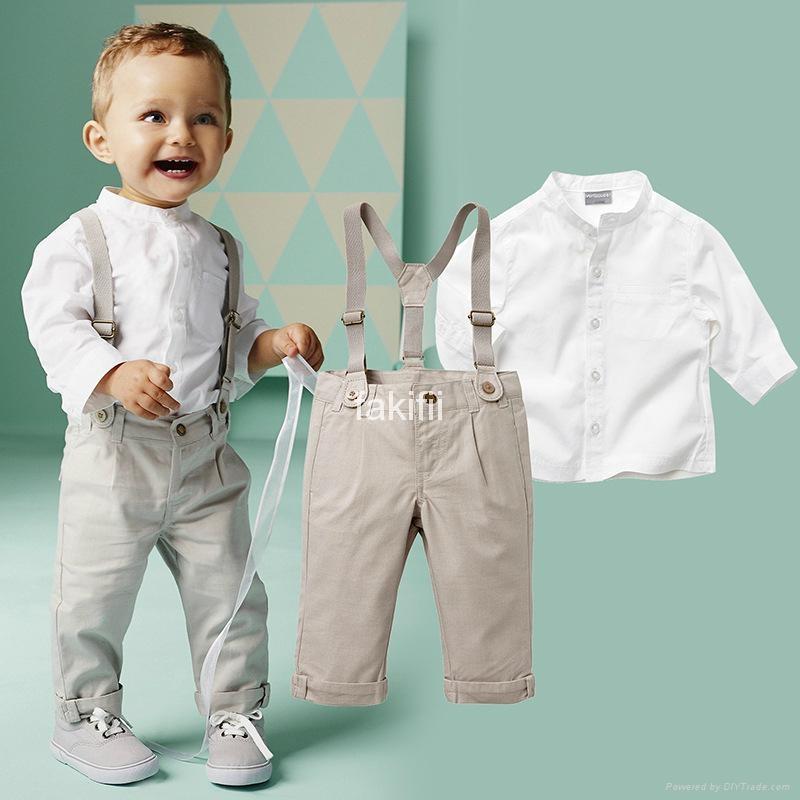 Autumn fashion boy clothes set 1