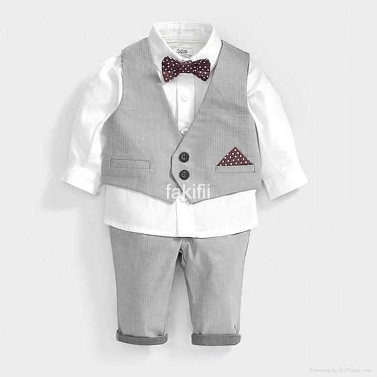 Autumn nice boy clothes set 1