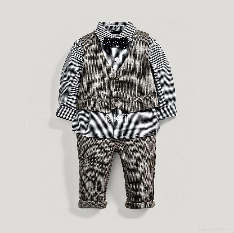 wholesale autumn boy clothes set 1