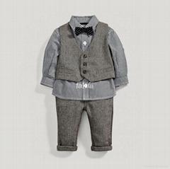 wholesale autumn boy clothes set
