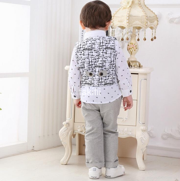Autumn fashion boy clothes set 2
