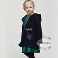 wholesale winter girl woolen coat