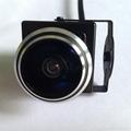 720P HD fisheye mini ip camera super