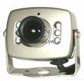 Color CMOS Mini IR Cameras 208c with
