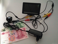 4.3 Inch TFT LCD Monitor Counterfeit Money Checker