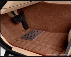 Russian market  popular 5D  PVC +EVA material car foot mat