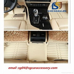 EVA material  car floor mat 5D auto mat