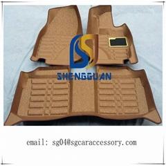 2015 new design 5d right hand car flooring mat
