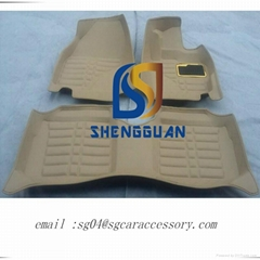 5D XPE/EVA material floor mat supplier from China