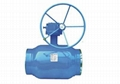 Worm Gear Type Fully Welded Ball Valve