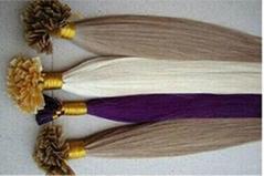 Curl Wave pre-bond Keratin U  Stick Tip Human Remy Hair Extension