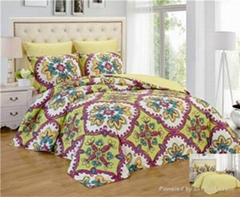 reversible 6pcs comforter set