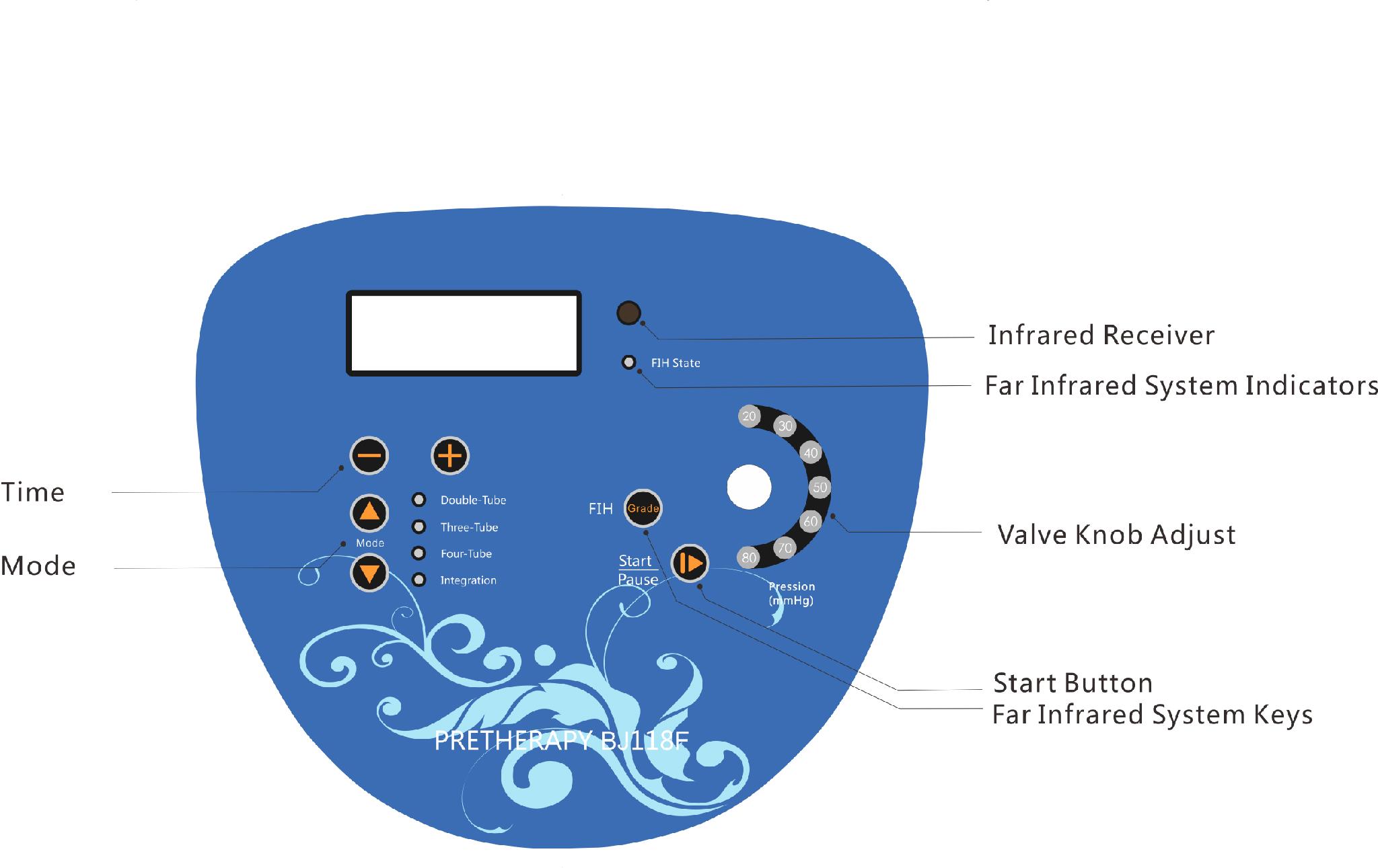 2017newest Infrared Air Massage Mattress 3
