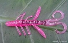 Water bug DW-01 3.8 Dearfishing soft plastic fishing lures