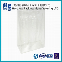Clear blister packaging for bottle packing with various shape