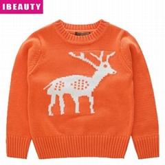 Wholesale ugly christmas deer sweater