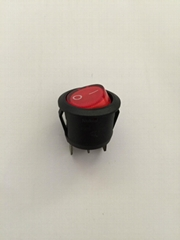 Rocker switch with dome lamp
