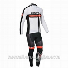 2015 top selling Customized Sublimation Cheap Cycling Bike Jersey for Men