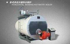 河南力威臥式承壓冷凝熱水鍋爐