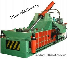 hydraulic metal scrap baling press machine