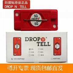 drop n tell防震标签原装进口防震撞标签批发