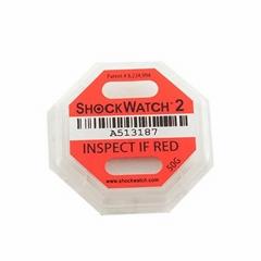 shockwatch2防震标签木箱运输监测指示器