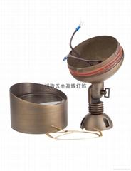 美式纯铜洗墙灯F02 UL认证安全别墅花园室外用