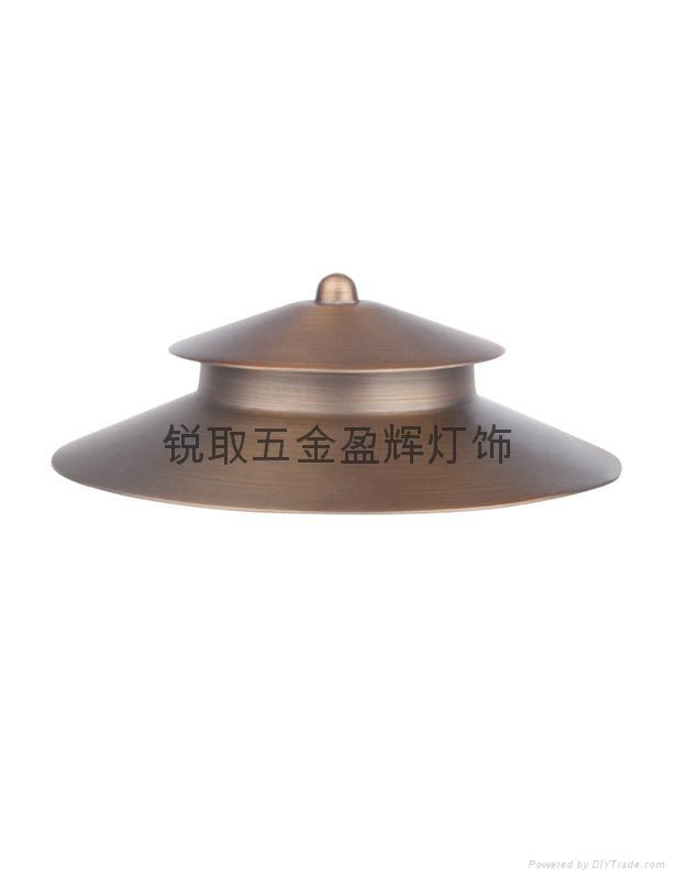 美式純銅草地燈P05 UL認証安全12V LED燈酒店庭院 4