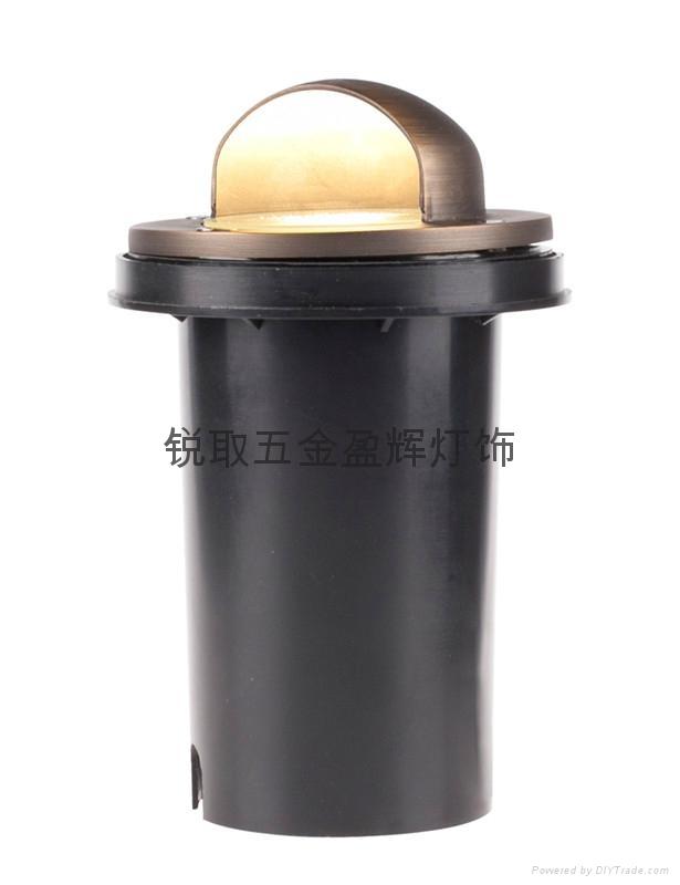 美式純銅地埋燈W02 7年包換低壓12V安全酒店景觀 4