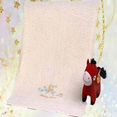 小清新纯花纹出口优质纯棉毛巾