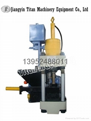 (TITAN)hydraulic metal chips briquetting press