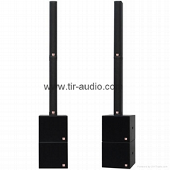 active line array column speaker system