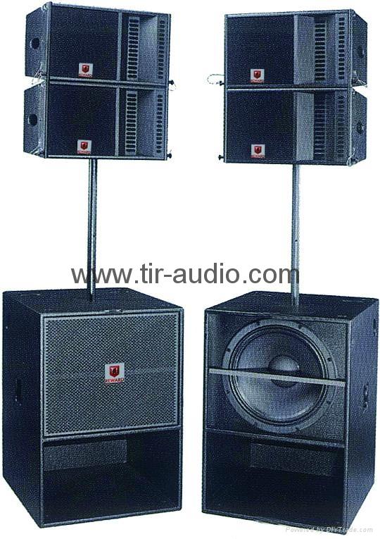 active line array column speaker system 3