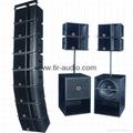 active line array column speaker system 4