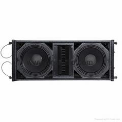 "pro dj audio +professional sound system + waveguide 10"" line array"