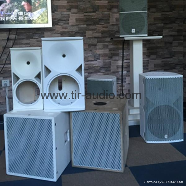 2016 Best Sell Dual 12 Inch Speaker Box Dj Sound Systems