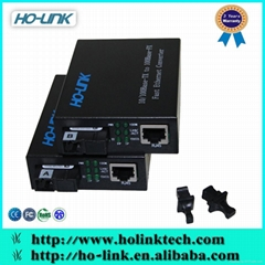Good price fiber Ethernet switch optical media converter