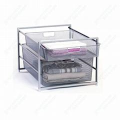Mesh Storage Basket Drawer System