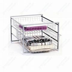 Wire Storage Basket Drawer System